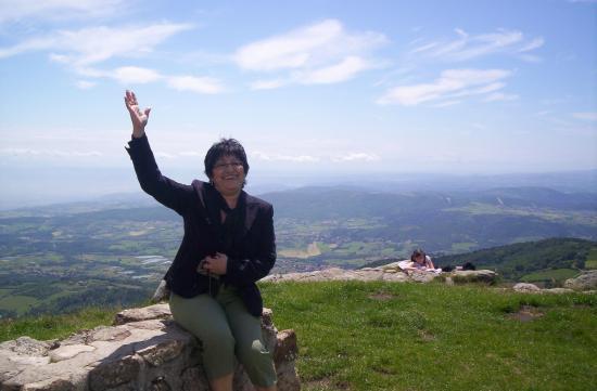 Maria vous salue du sommet du PILAT !!!