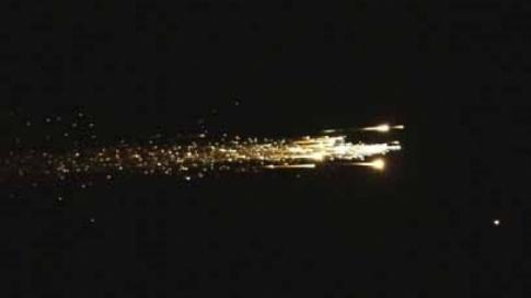 Arrivée de Hayabusa dans l'atmosphère
