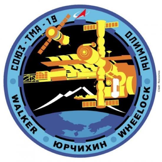 Logo de la mission TMA 19
