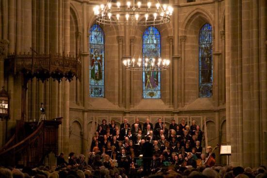 Cathédrale de Genève : Messe en Si m de J.S.Bach