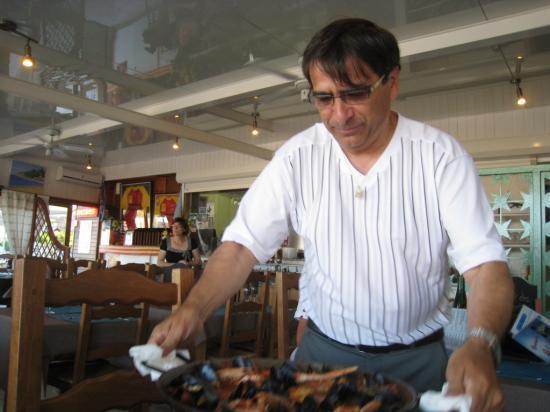 Le patron du Palm Beach à La franqui