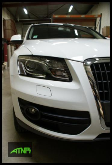 Nettoyage Audi Q5 Blanc