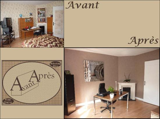 Avant apr s home staging evreux 27 eure haute normandie for Relooking interieur avant apres