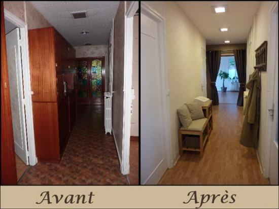Avant apr s home staging evreux 27 eure haute normandie for Relooking maison interieur