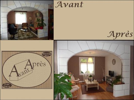 Avant apr s agence de d coration d 39 int rieur evreux for Decorateur interieur home staging