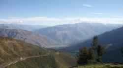 Vista desde la carretera - Abancay