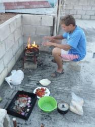 Barbecue sobre el techo - Abancay
