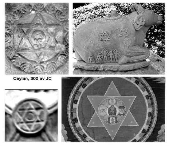 Sceau De Salomon    Pentacle Ou 2 Triangles