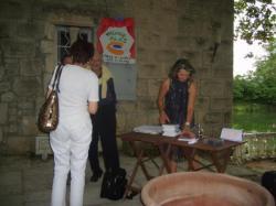 Nadine COSTA  .  Marc GALABRU Moulin ST CHRISTOL