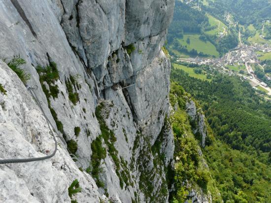 Le assage de la putre à roche Veyrand, Saint Pierre d ' Entremont en bas !