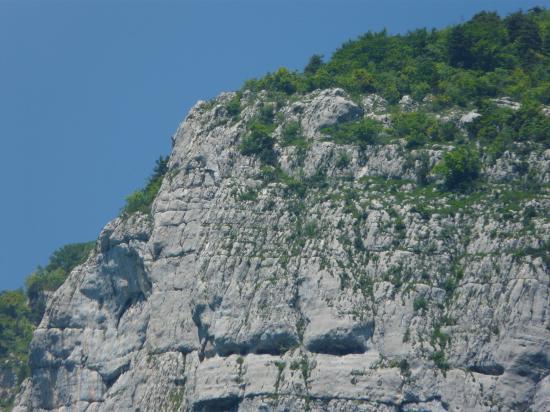La sortie de la via de roche Veyrand