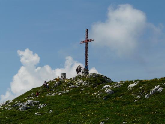 La croix du sommet du grand Som (chartreuse)