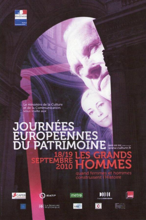 Affiche Officielle des Journées Européennes du Patrimoine 2010