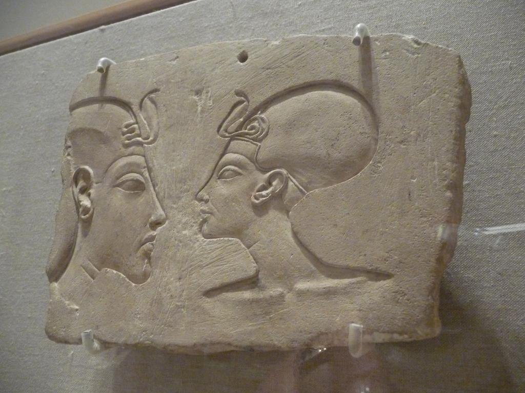 wilbour plaque Sunk relief heads of akhenaten and nefertiti (limestone, 157 x 221 x 41 cms), known as the wilbour plaque it was intended as a sculptor's model, to be studied and imitated by students and.