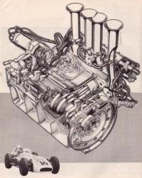 moteur Scarab 2.5 litres desmo