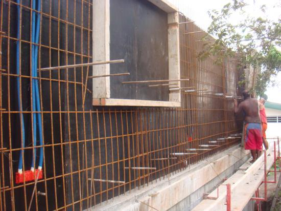 Les murs coffrage et b ton banch - Mur beton banche ...