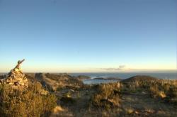 Vista sobre el lago - Isla del sol