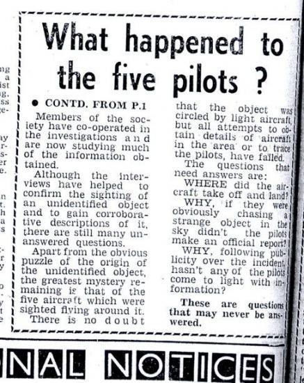1966 UFO Aussie ovni 1