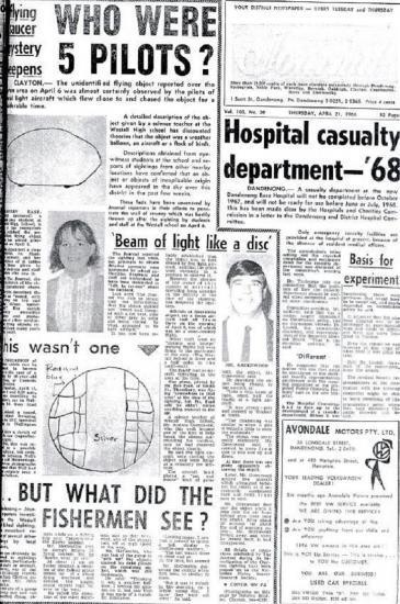 1966 UFO Aussie ovni 2