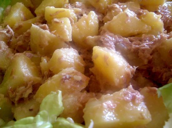 Pommes de terre au thon CARSG