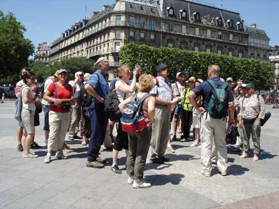 Randonnée parisienne pour SLC!