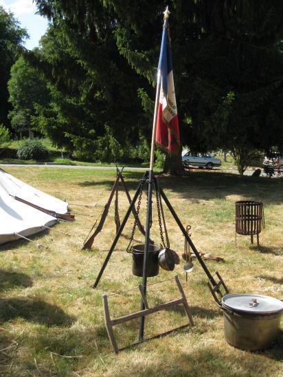 Belleau : Armes et popote