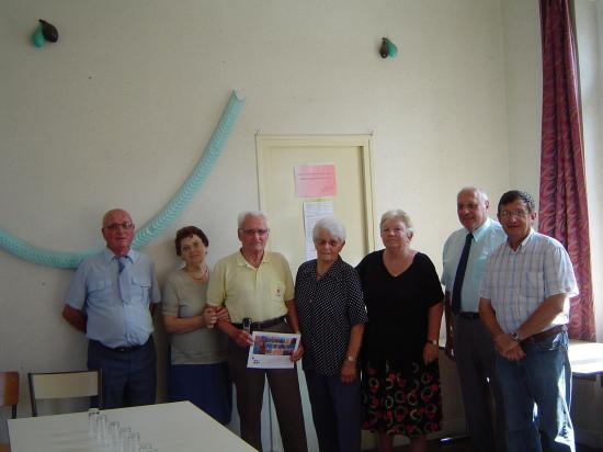 14 juillet : Remise de diplôme à Pargny la Dhuys
