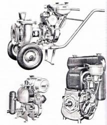 moto pompes et moteurs fixes