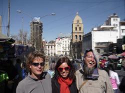 Slovenian crew - La Paz