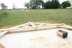montage charpente